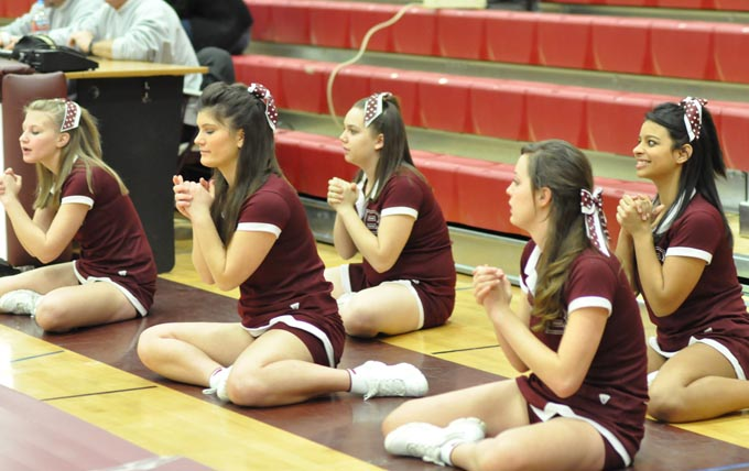 2457 wed cheer Berthoud Wrestlers have a busy week