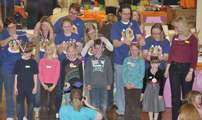 primary medal 2 Odyssey of the Mind for Second Grade