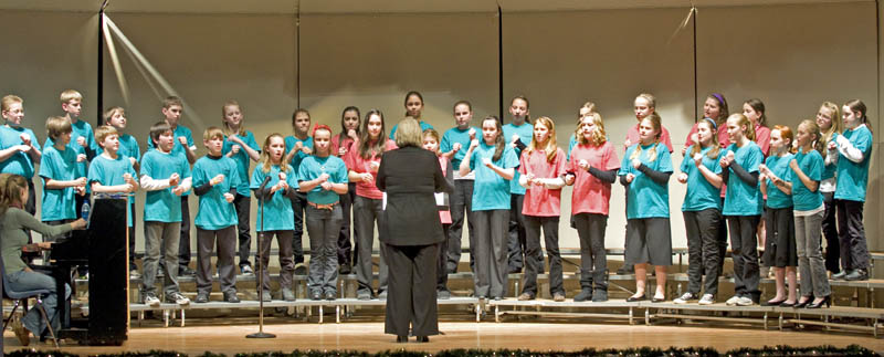 tms choir concert 6th grade Turner shines in Sounds of the Season