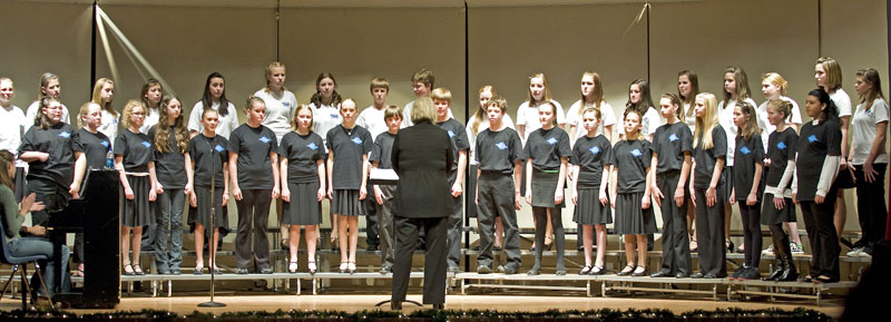 tms choir concert 78th grade1 Turner shines in Sounds of the Season