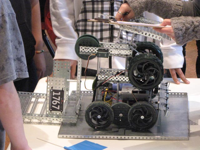 robotics 3 Berthoud High Hosts Colorado VEX Robotics Championship