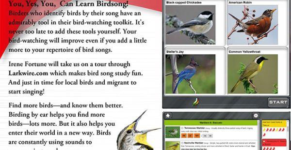 Foothills Audubon Club: April Program