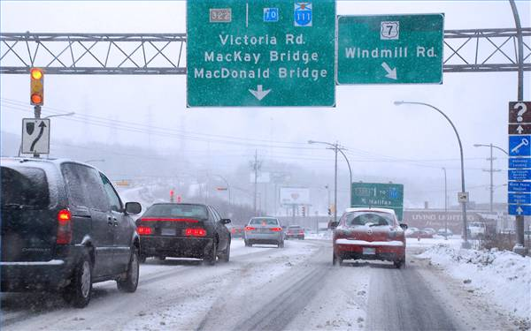 It pays to take precautions when driving in winter conditions.