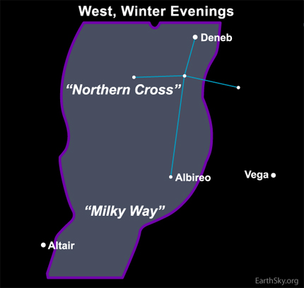 December 25, 2009, The Northern Cross