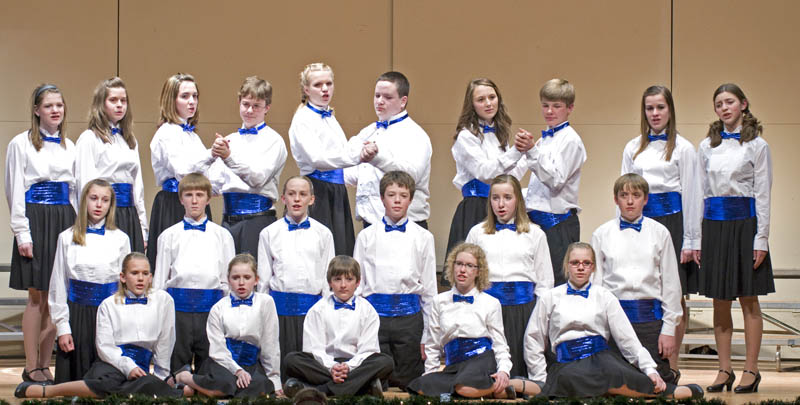 TMS Concert Fire Choir Turner shines in Sounds of the Season