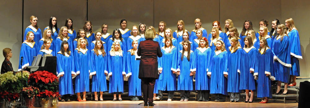 Womens Choir web1 Sounds of the Season Berthoud High School Choir