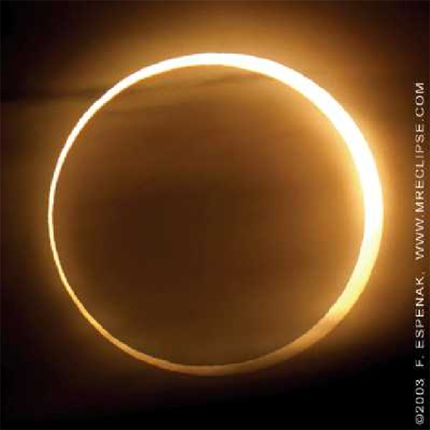 14jan10 4301 Earthsky Tonight: January 14, 2010   Annular eclipse in Africa and Asia on January 15
