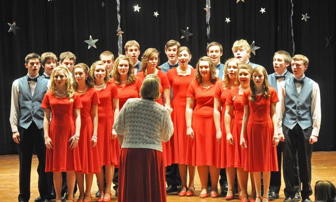 1895The Show choir Show Choir Showcase a great success