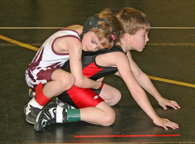 I8444 Caleb Francis Berthoud Wrestling Club advances 16 to Championships