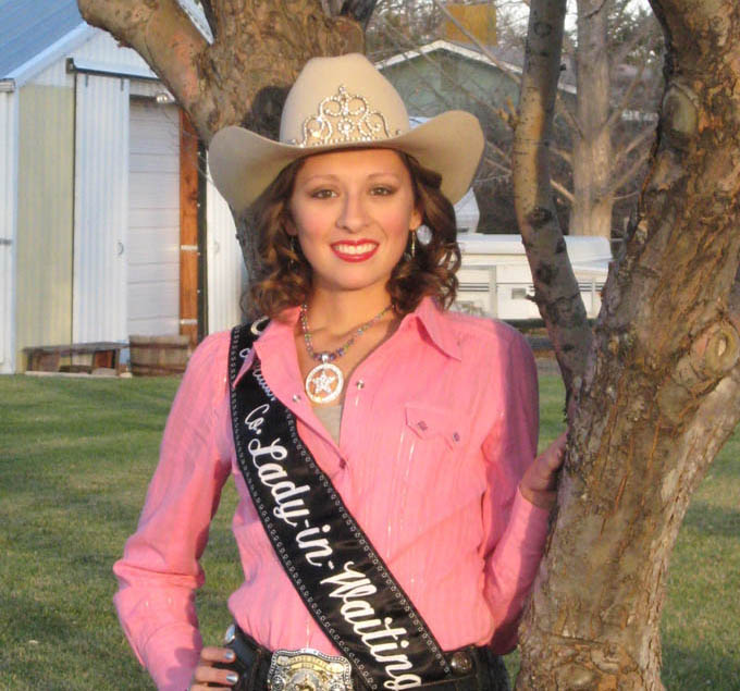 Marie Andrade Allison Boulder County Fair and Rodeo Lady in Waiting