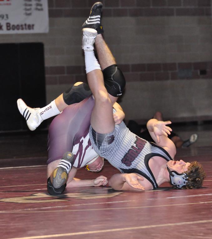 Pickert Bechard 2 Berthoud wrestlers upset Silver Creek in overtime