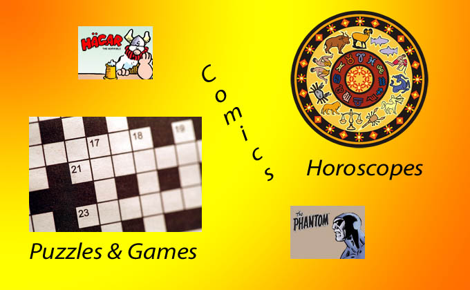 Puzzles and Comics Recorder Online adds comics, puzzles and horoscopes