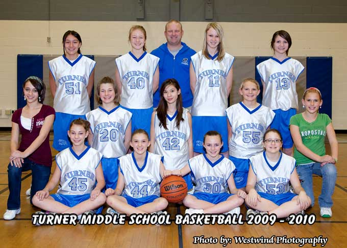 Turner 7th V Turner Middle School Girls Basketball Season underway