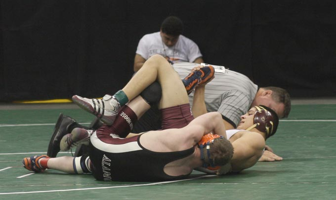 0412 Marcus Spartans place four wrestlers in top six at state