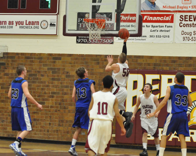 2948 Maly makes it 12 30 2nd qtr Longmont overpowers Berthoud 78   46