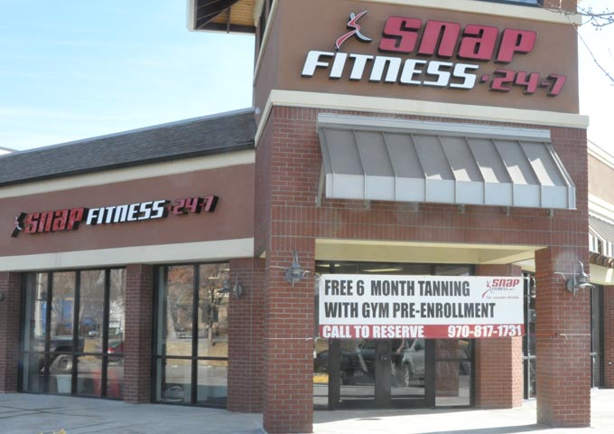 Fittness center front1 Snap Fitness Center opening Monday