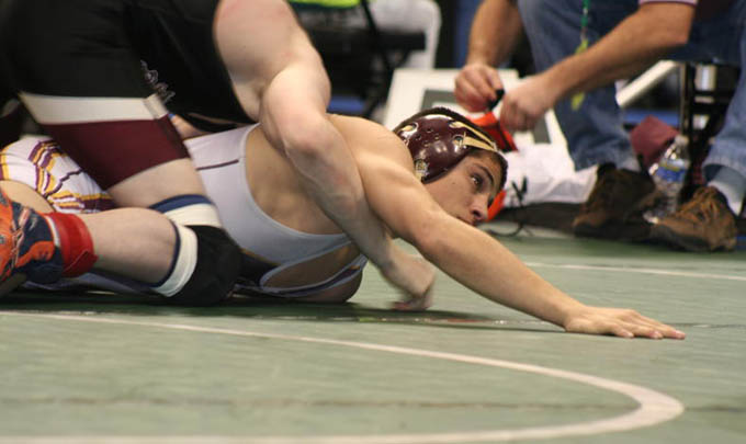 Marcus Lucero Quarterfinals update   Sadlo advances