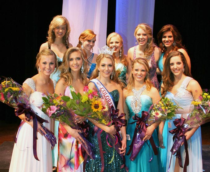 Mis Colo HS top 10 Miss Colorado High School 2010 crowned
