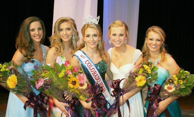 Miss Colo HS top 51 Miss Colorado High School 2010 crowned