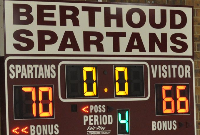 Scoreboard Berthoud Boys eke out win over tough Silver Creek