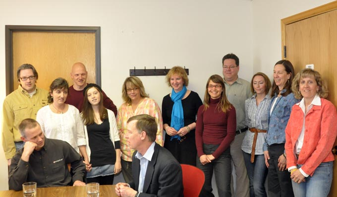4488 staff feature Hickenlooper visits Berthoud