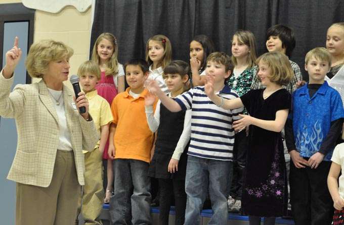 IS 4105 The Second Grade presents 'Something's Musical'