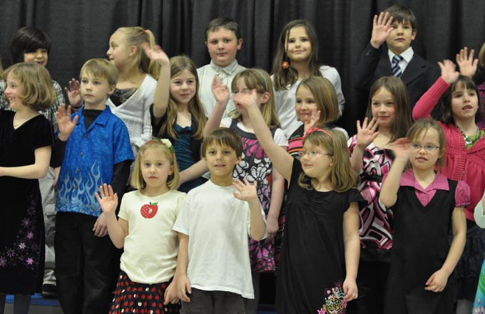 IS 4106 The Second Grade presents 'Something's Musical'