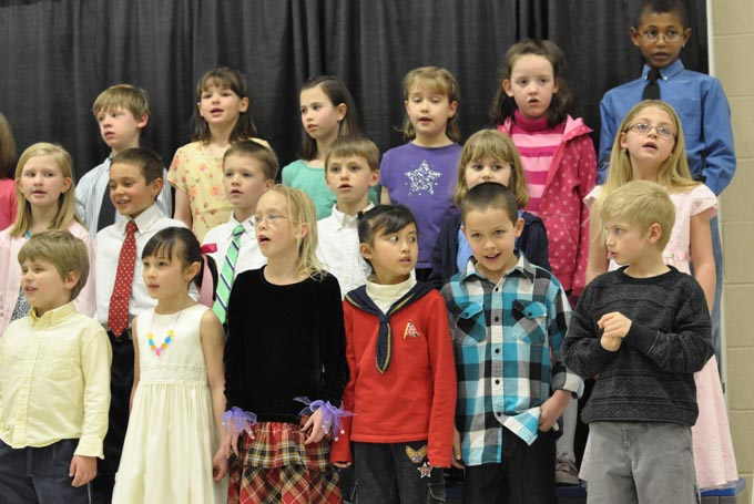 IS 4107 The Second Grade presents 'Something's Musical'