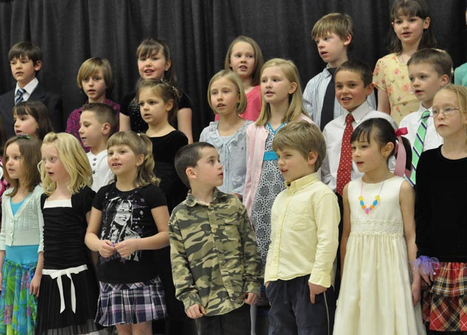 IS 4108 The Second Grade presents 'Something's Musical'