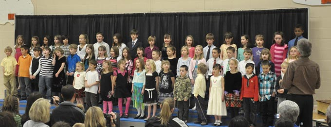 IS 4109 The Second Grade presents 'Something's Musical'