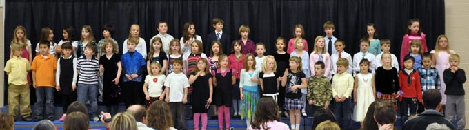 IS 4111 The Second Grade presents 'Something's Musical'