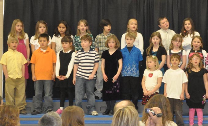 IS 4114a The Second Grade presents 'Something's Musical'