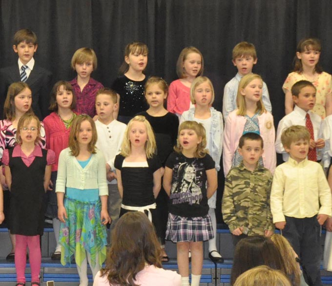 IS 4114b The Second Grade presents 'Something's Musical'