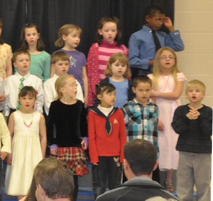 IS 4114c The Second Grade presents 'Something's Musical'