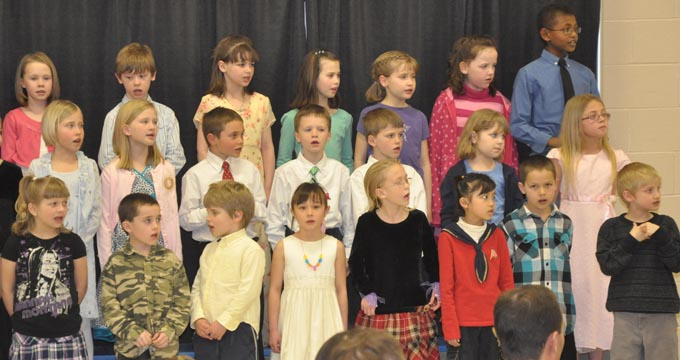 IS 4117 The Second Grade presents 'Something's Musical'