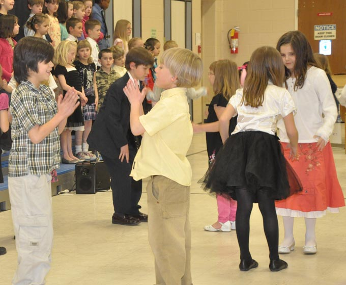 IS 4118 The Second Grade presents 'Something's Musical'