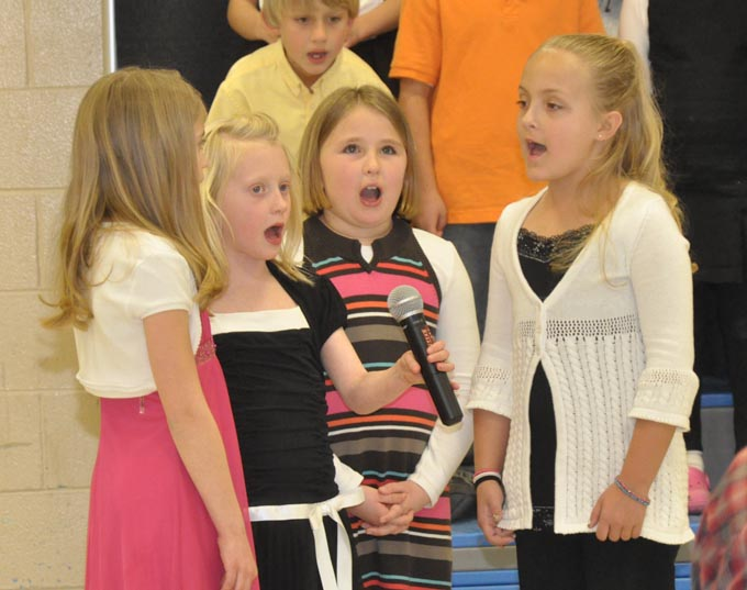 IS 4126 The Second Grade presents 'Something's Musical'