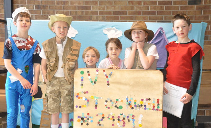 Ivy Stockwell Odyssey team for feature Odyssey of the Mind, its Elementary