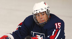 Nikko Landeros1b Nikko Landeros shines as defensman for US sled hockey team