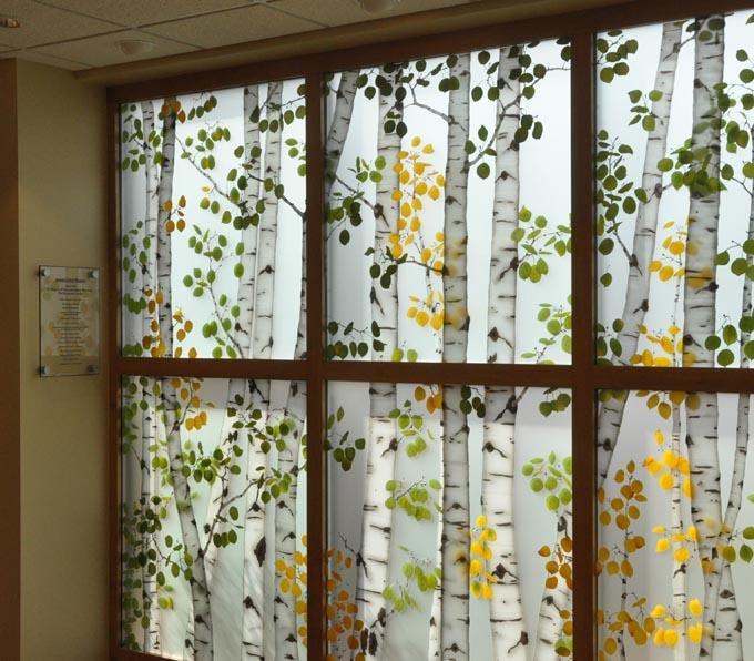 Aspen wall2 McKee Medical Center dedicates new Chapel