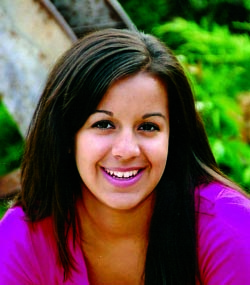 Elizabeth Rivera Lizzy 010768 BHS senior Elizabeth Revera receives Daniels Fund Scholarship