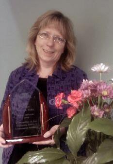 Mary Jablonski Thompson School District's Mary Jablonski receives award