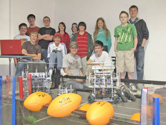 Robotics group Berthoud and Loveland Teams Complete Preparations for VEX World Championship in Dallas, TX