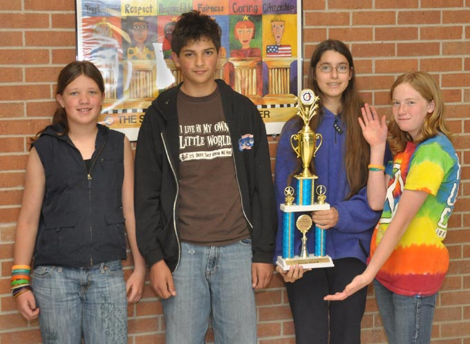 Turner Odyssey team 680 Turner Middle School places third at state Odyssey competition