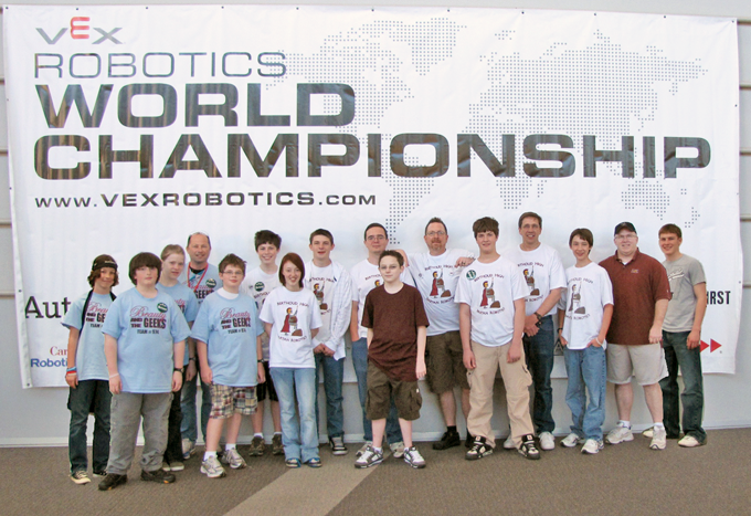 WorldChamp2010 Berthoud and Loveland Teams Compete at VEX World Championship in Dallas