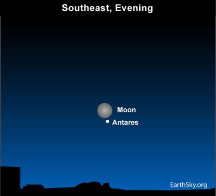 10may27 4301 Earthsky Tonight—May 27: Full moon near the Scorpion's Heart