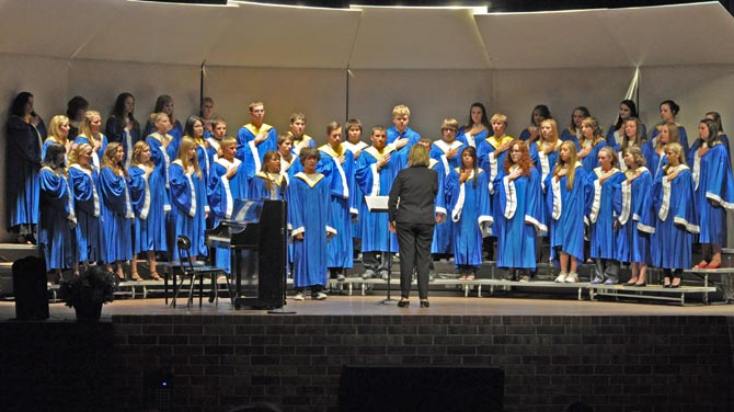The Berthoud High School Master Choir