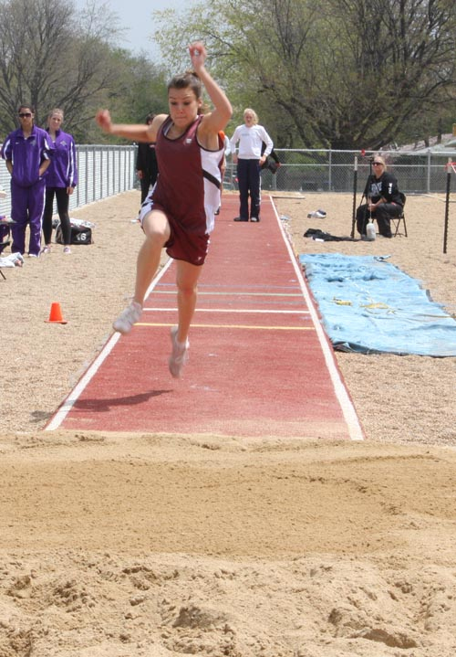 cheyenne hall Berthoud places 40th in state track competition