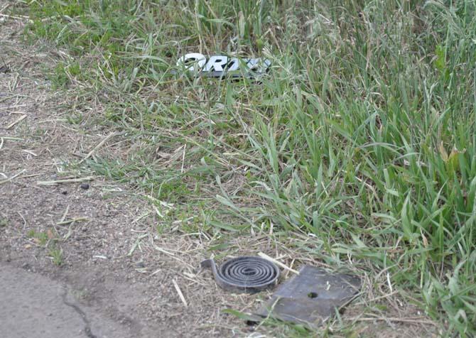 Debris Fatal accident east of Berthoud
