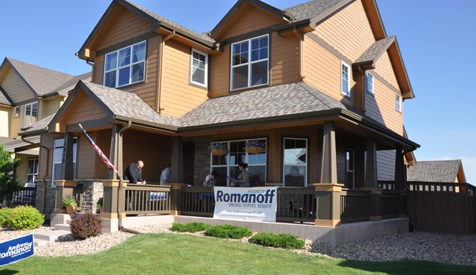 House Andrew Romanoff Visits Berthoud
